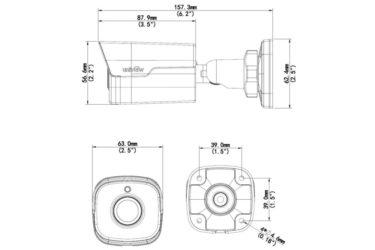 Видеокамера Uniview IPC2122SR3-UPF36(60) | unv.kiev.ua
