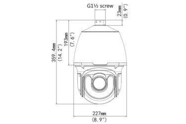 PTZ видеокамера Uniview IPC6252SR-X33U   unv.kiev.ua