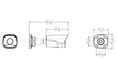 Видеокамера Uniview IPC2124LR3-PF40(60) | unv.com.ua