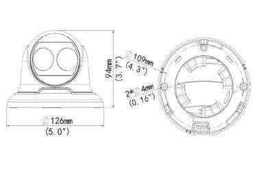 Видеокамера Uniview IPC3612ER3-PF28(40)-C   unv.com.ua