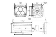 Видеокамера Uniview IPC2222SR5-UPF40(60)-B | unv.kiev.ua