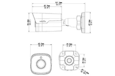 Видеокамера Uniview IPC2124SR3-DPF36(60)-16G | unv.kiev.ua