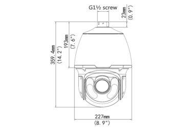 PTZ видеокамера Uniview IPC6222ER-X20(P) | unv.kiev.ua