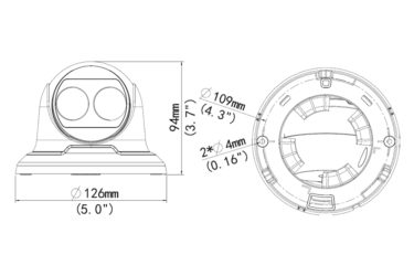 Видеокамера Uniview IPC3614SR3-DPF28(36)(60) | unv.kiev.ua