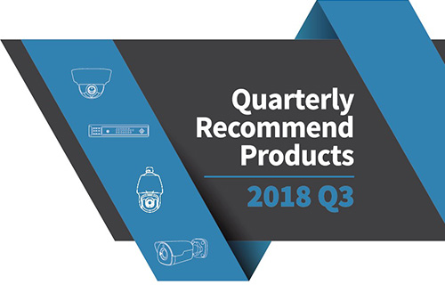 Quarterly Recommend Product 2018 Q3