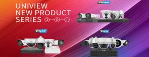 Новая серия продуктов Uniview - Easy, Prime, Pro | unv.com.ua